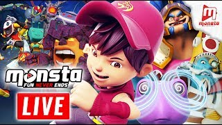 Video 🔴 Monsta TV LIVE 24/7! - (BoBoiBoy Galaxy, Om Nom Stories, Impian REMI) MP3, 3GP, MP4, WEBM, AVI, FLV Mei 2018
