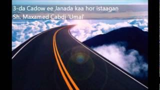 3 Cadow Oo Janada Kuu Diidan - Sh Maxamed Cabdi Umal