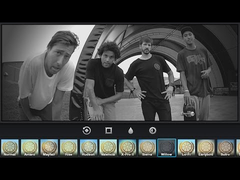 Chris Cole, Paul Rodriguez, Mikey Taylor & Cody Cepeda – Gram Yo Selfie at Woodward