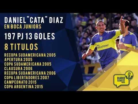10 momentos del Cata Díaz en Boca