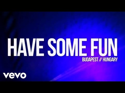 The Wanted - Have some fun ft. Pittbull & Afrojack lyrics