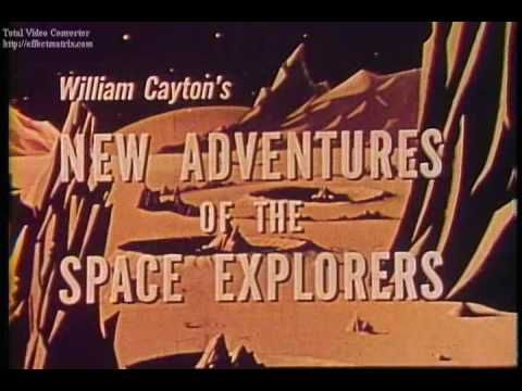 Obscure Animated Space Cartoon Adventure (1959)