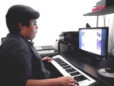 Piano Video: Online Piano Lesson #129 The Happy Birthday Swing played by Michael