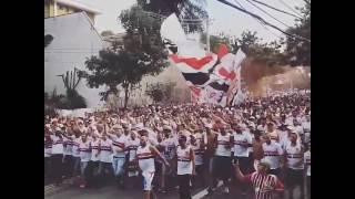 Independente chegando no morumbi 2017