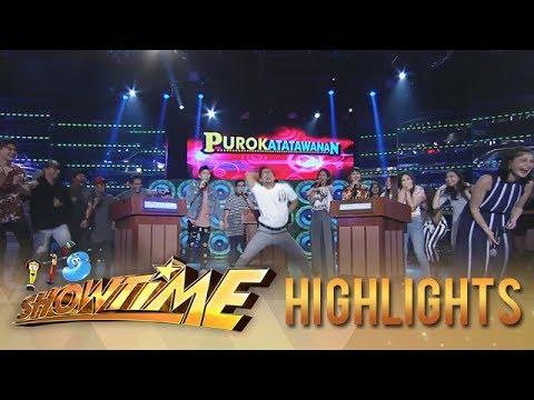 It's Showtime PUROKatatawanan: Team Boys win over Team Girls