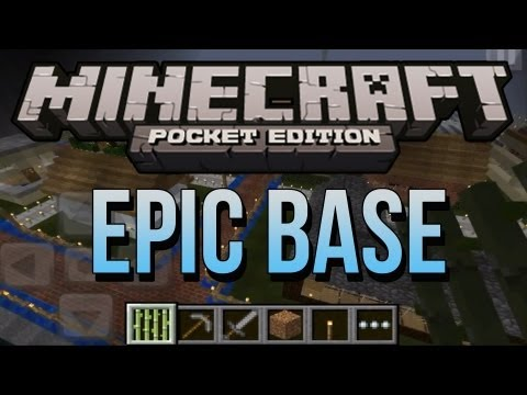EPIC Minecraft PE Base! – Contest Entry For JoePassGaming