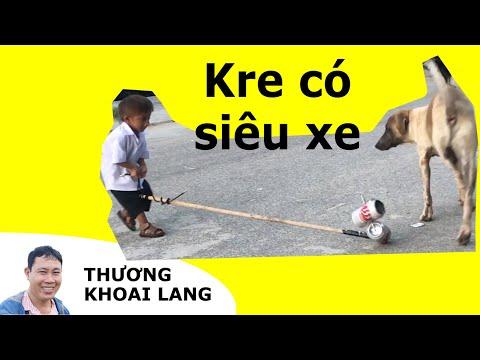 TÍ HON KRE nhỏ nhất Việt Nam có xe đồ chơi độc lạ nhất thế giới   Thương Khoai Lang