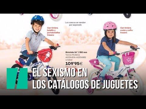 El sexismo en los catálogos de juguetes