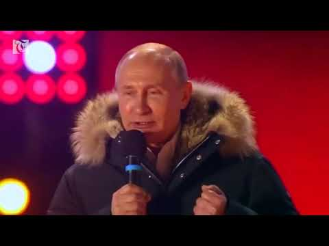 Russians wake up to another six years of Vladimir Putin