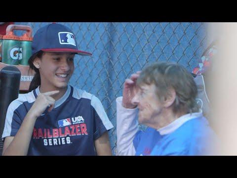 Trailblazer girls talk about their love of baseball