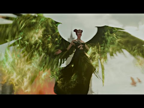 Maleficent: Mistress Of Evil - Scene 4K - Maleficent Enters The Battle Against The Queen.