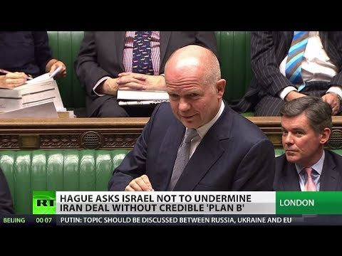 Netanyahu - Israeli Prime Minister's insistence that his country doesn't have to go along with the deal has got short shrift from Britain's top diplomat. William Hague h...
