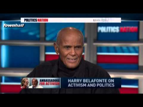 Harry Belafonte Wants Obama To Use Hugo Chavez Formula