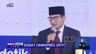 Video Panas! Debat Ma'ruf Amin dan Sandiaga Soal Tenaga Kerja Asing MP3, 3GP, MP4, WEBM, AVI, FLV Maret 2019