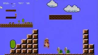 Super Mario Bros Arcade VS Nintendo NES Version