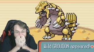 RIDICULOUSLY FAST Shiny Groudon in Pokemon Ruby! by SkulShurtugalTCG