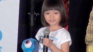 室井滋、菊地慶、青山らら/映画『ファインディング・ドリー』大ヒット御礼舞台挨拶
