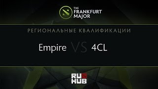4Clovers vs Empire, game 2