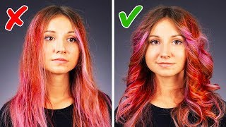 Video 25 EASY HAIR HACKS TO SPEED UP YOUR BEAUTY ROUTINE MP3, 3GP, MP4, WEBM, AVI, FLV Juni 2019