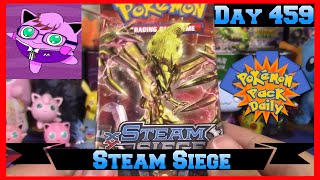 Pokemon Pack Daily Steam Siege Booster Opening Day 459 - Featuring Master Jigglypuff and Friends by ThePokeCapital