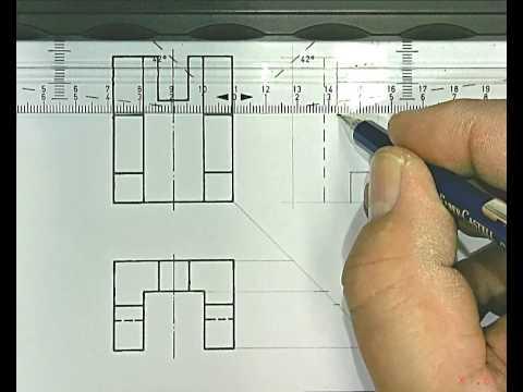Parallelprojektion S. 11 Zeichnung  2 (Unten)