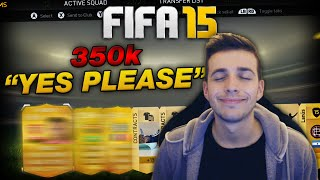 350K FIFA 15 PACK OPENING - YES PLEASE! | FIFA 15 ULTIMATE TEAM PACK OPENING