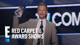 The People's Choice for Favorite TV Comedy Actor is Neil Patrick Harris