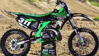 4. Project 2006 Kawasaki KX250 2 Stroke - Motocross Action Magazine