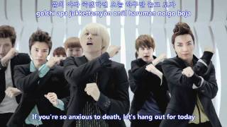 Super Junior - Mr Simple MV [english subs + romanization + hangul]