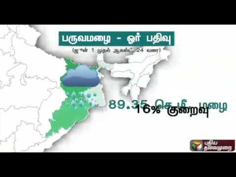 Decreased-rainfall-during-Southwest-monsoon-in-south-India-this-year--Full-details