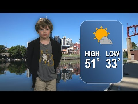 Kindergarten s Hilariously Cute Weather Report Goes