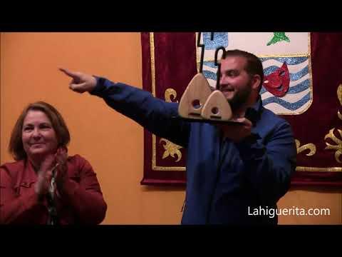 Entrega de premio al mejor Laúd de la Peña Pilopitrópicos a Sergio Giménez Carrillo