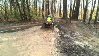 9. Bryce mudding on 160cc