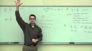 Intermediate Algebra Lecture 7.3