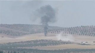 Turkey makes first major foray into Syria with assault on Islamic State