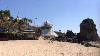Chaungtha Beach Myanmar  City pictures : The Desert Beaches of Myanmar: North of Chaung Tha