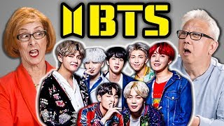 Video ELDERS REACT TO BTS - FAKE LOVE MP3, 3GP, MP4, WEBM, AVI, FLV Juni 2018