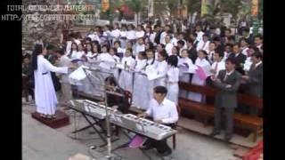 Lễ đón sắc đền thánh Hưng Nghĩa GP Bùi Chu 9