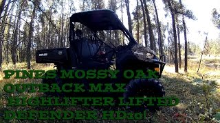 6. Pines STI Highlifter Lifted Outback Max Defender Can-am HD10!