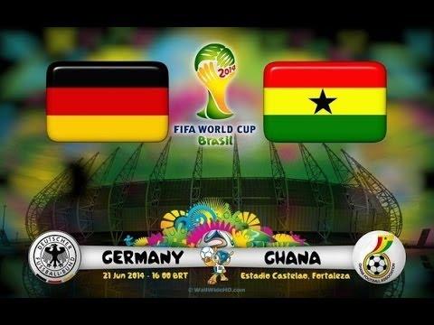 Германия - Гана  [FIFA WORLD CUP 2014 Brazil] Группа G