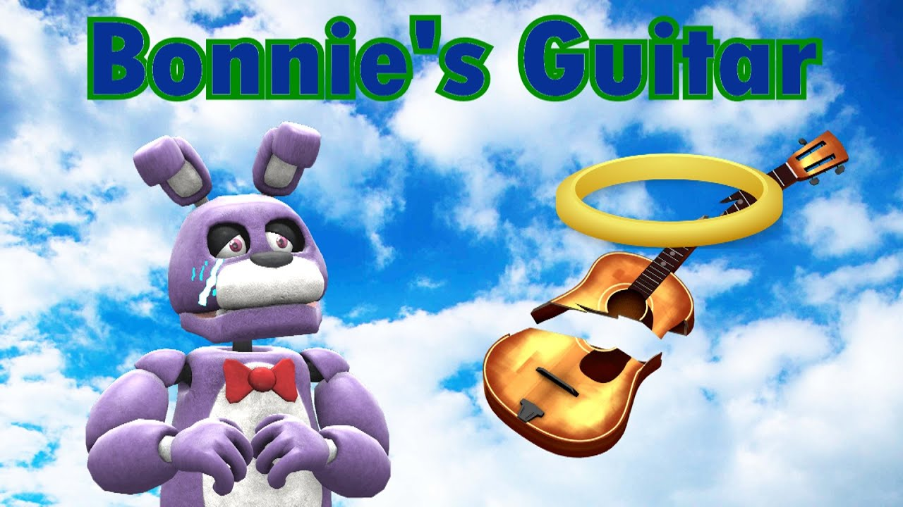 "Freddy Fazbear and Friends ""Bonnie's Guitar"""