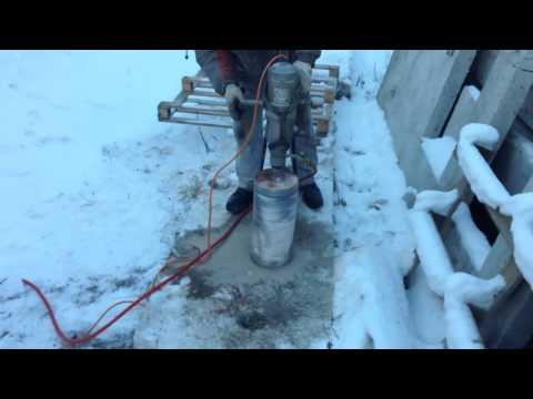 Бак для подачи воды в зимнее время года DUS (видео)