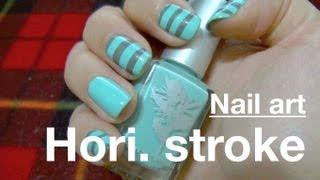 Nail : Easy Simple Stripes快易簡 條紋美甲教學