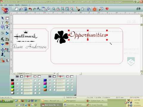Making a Nametag and Magnet.avi (видео)
