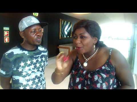 Ken Mpiana na Nana BODUKA Balobeli voyage ya fally na Angola