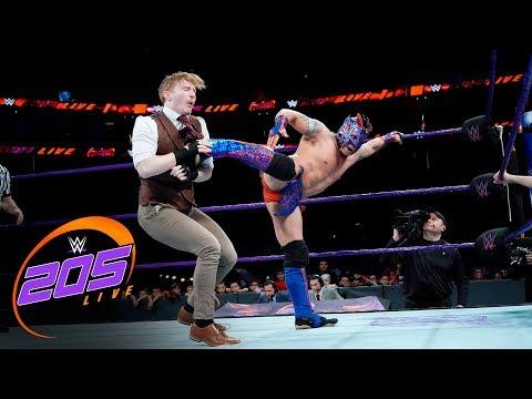 Kalisto & Gran Metalik vs. The Brian Kendrick & Gentleman Jack Gallagher: WWE 205 Live, Dec 19, 2017