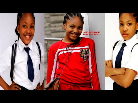 Meet Nollywood Most Talented Kid actress of 2019, Angel Onyi Unigwe|| Biography, Awards, Movies,