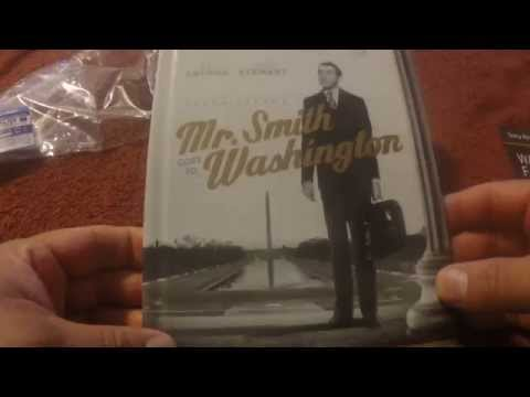 Frank Capra's Mr. Smith Goes To Washigton BluRay Digibook Unboxing