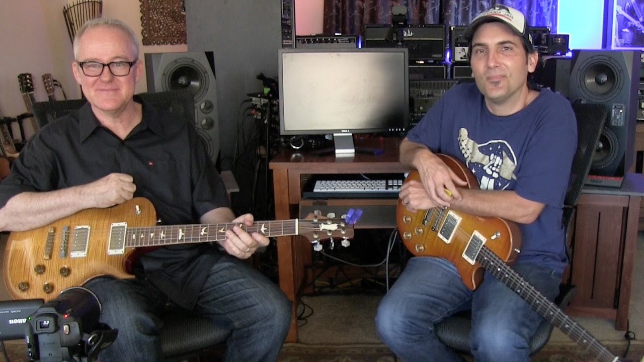 Mixing Major and Minor Pentatonic Scales | Guitar Solo Lesson | Tim Pierce | Brett Papa