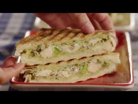 Chicken Recipes – How to Make Chicken Panini